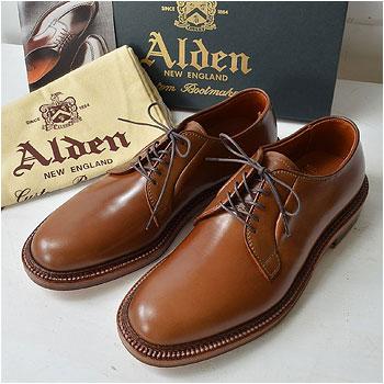 ALDEN|オールデン 9905ウイスキーコードバン プレーントゥ|買取査定