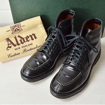 ALDEN|オールデン 4545H コードバン タンカーブーツ黒7D|買取査定