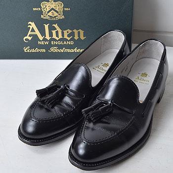 ALDEN|オールデン 660 カーフ タッセルローファー|買取成立