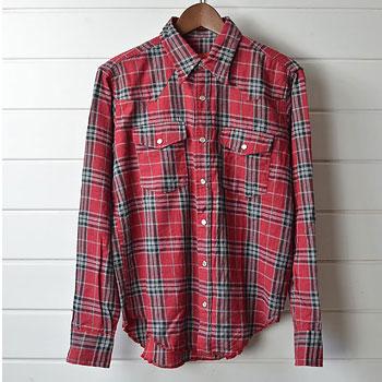 バテンウェア|Battenwear ウエスタン チェックネルシャツ|買取査定
