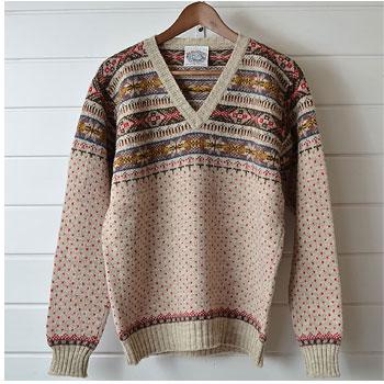 ジャミーソンズ|JAMIESON'S フェアアイル柄セーター|買取査定
