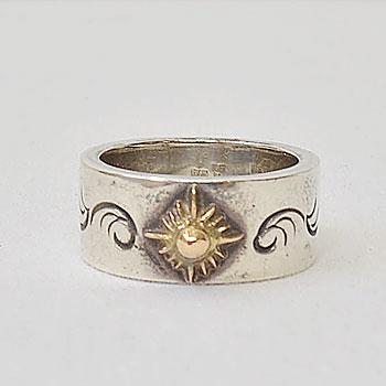 navajo indian jewelry NAVY TWILL TROUSERS/アクネ ネイビーツイルトラウザー