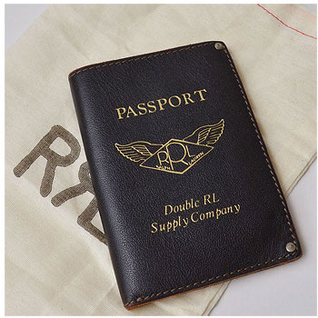 RRL| ダブルアールエル イタリア製レザーパスポートケース|買取査定