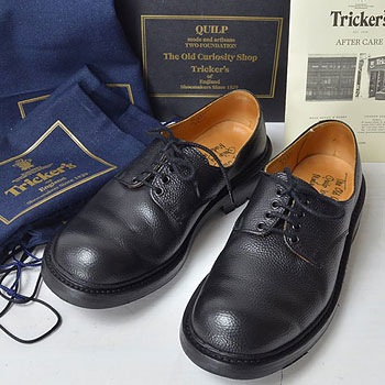 QUILP SHOES×Tricker's|プレーントゥ スコッチグレイン |買取成立