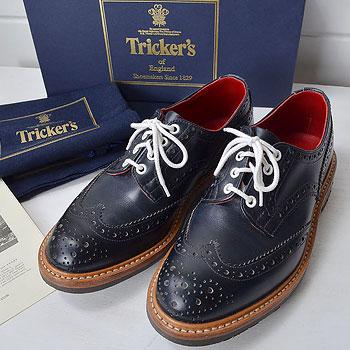 トリッカーズ Tricker's 5633 Bourton ウイングチップシューズ  買取査定
